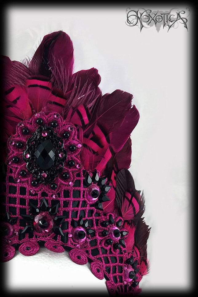 Hot Pink Headdress