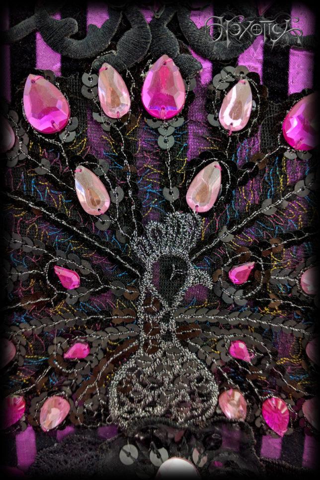 Pink_Peacock_Headdress