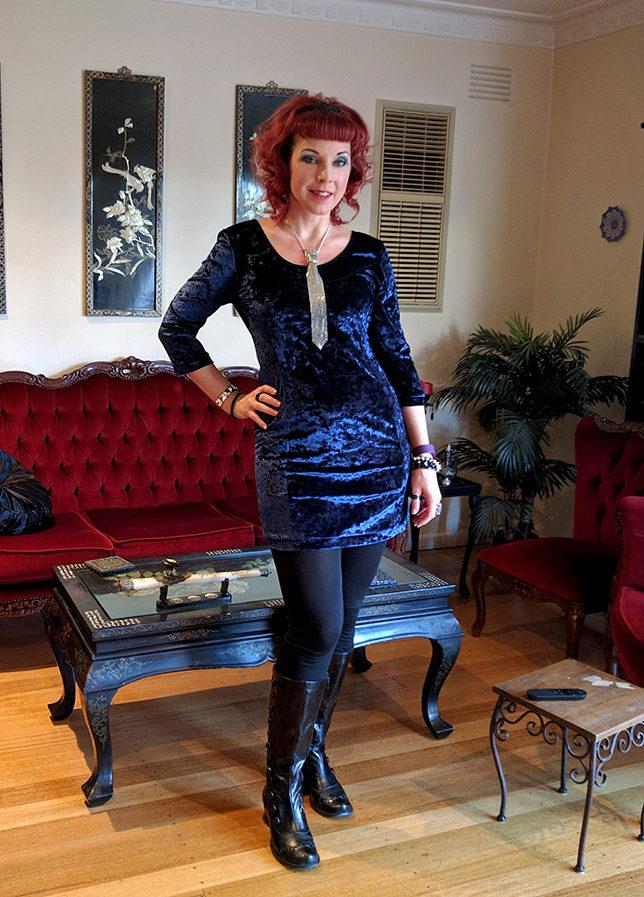 Alternative fashion blogger Christine of Hexotica