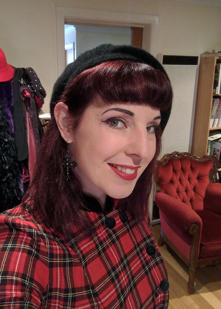 Hexotica_Alternative_Lifestyle_Blog_Red_Tartan_Dress